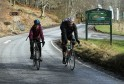 Gayle joins Scot Tares for an Etape training session.