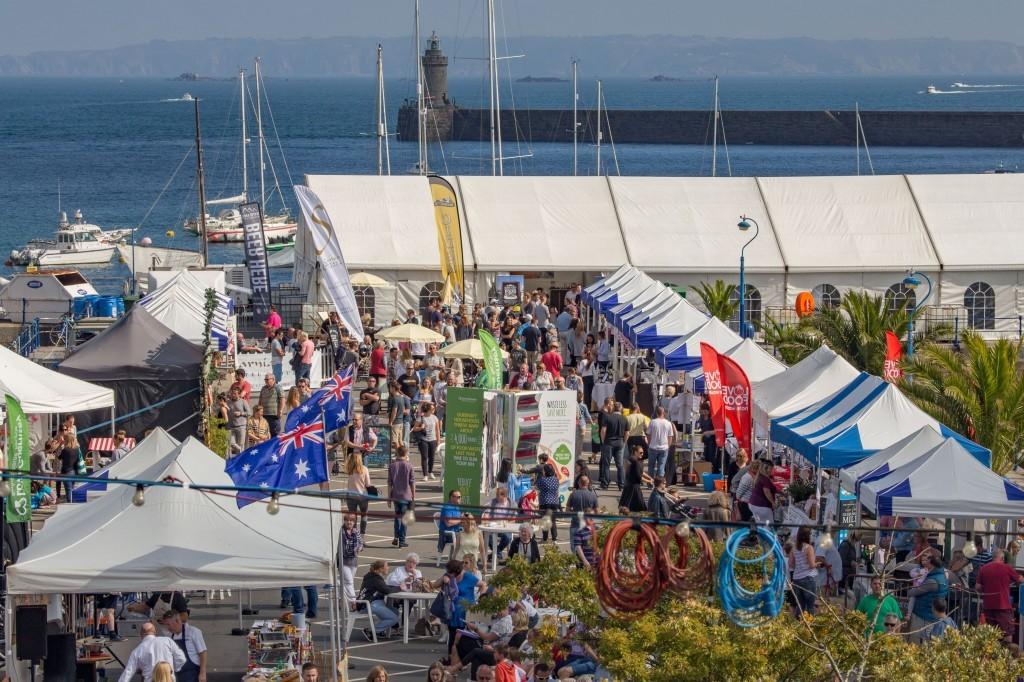 Guernsey International Food Festival 2015.