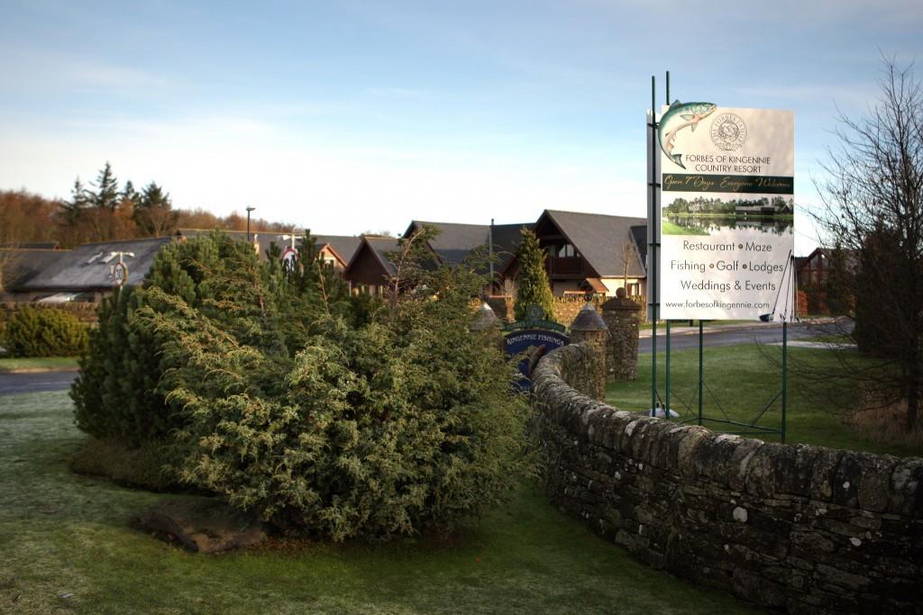 Forbes of Kingennie resort.