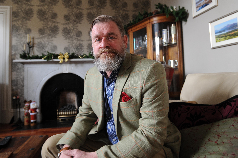 Carnoustie councillor Bill Bowles