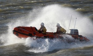 Broughty Ferry lifeboat crew.