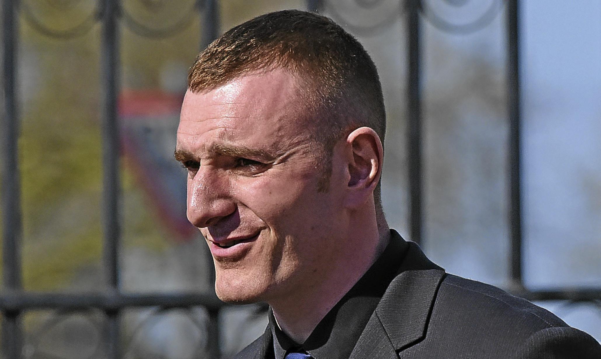 RM Condor marine recruit Carlo Nicholson