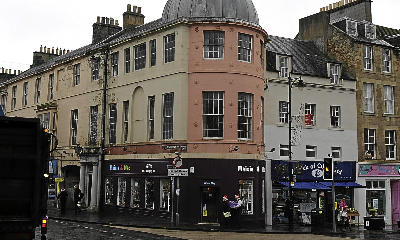 Cupar town centre.
