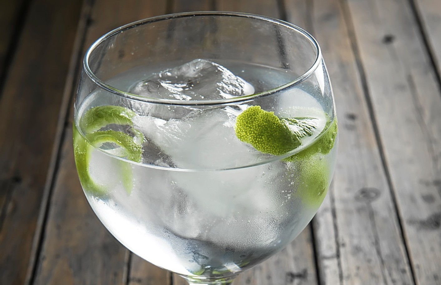 Gin and tonic, which goes far too well with sunshine - no matter how little we get.