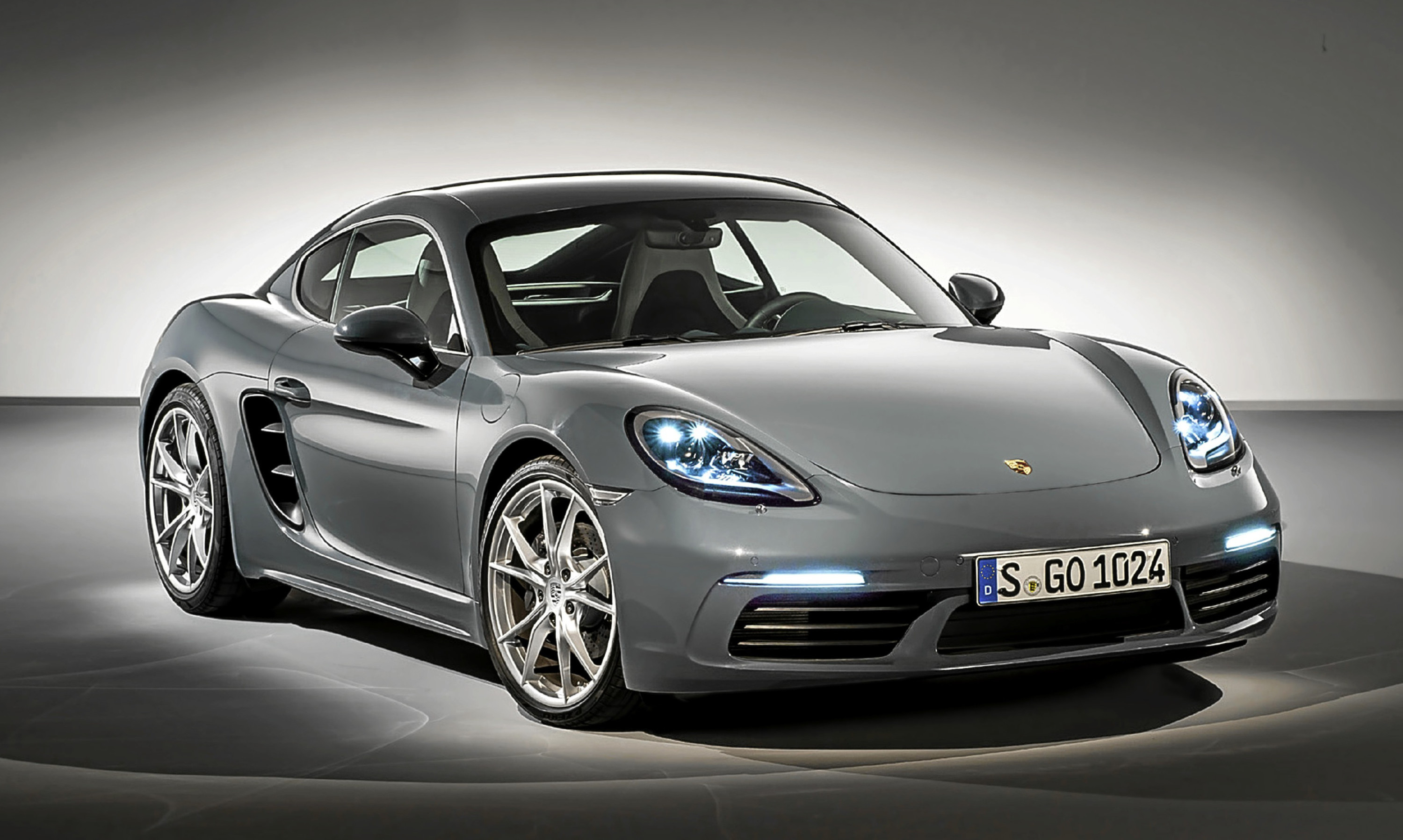 The 2016 Porsche 718 Cayman.