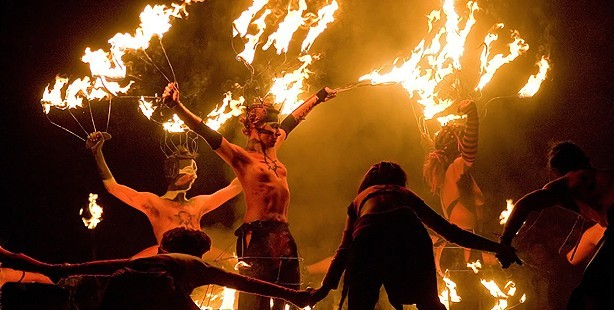 Beltane Festival celebrations in Edinburgh last year