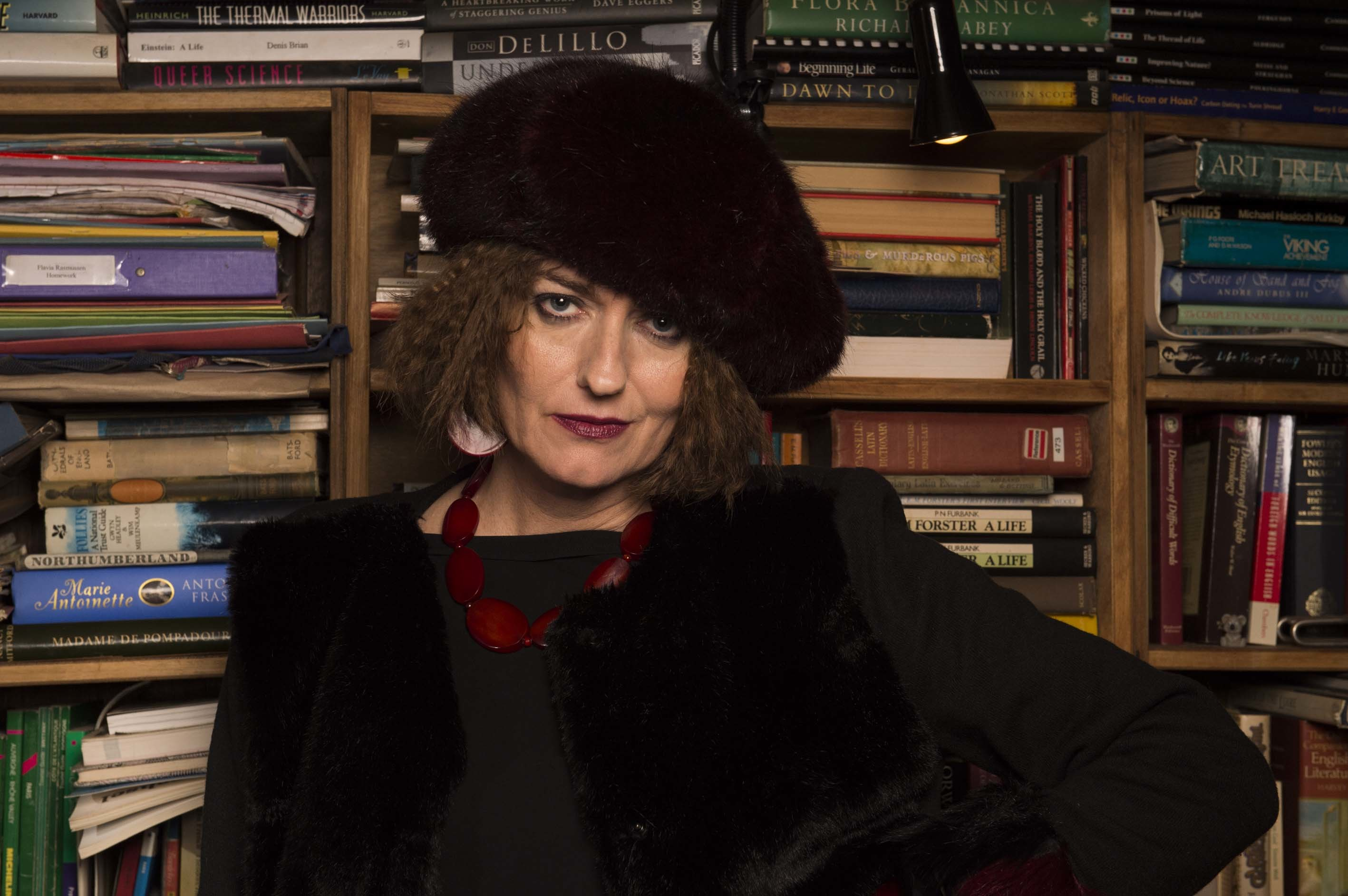 Anna Chancellor in Flowers.