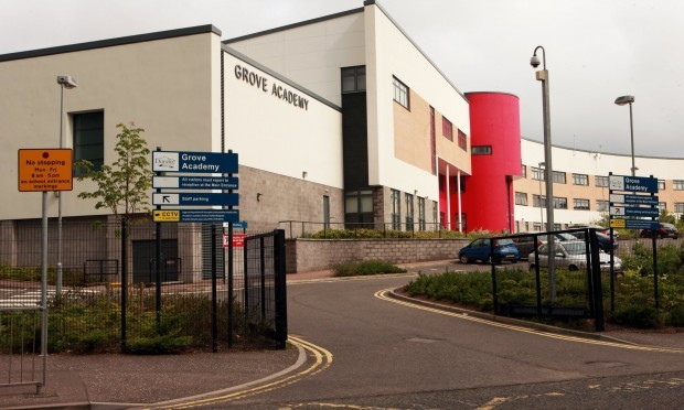 The new Grove Academy was built under a private finance deal.
