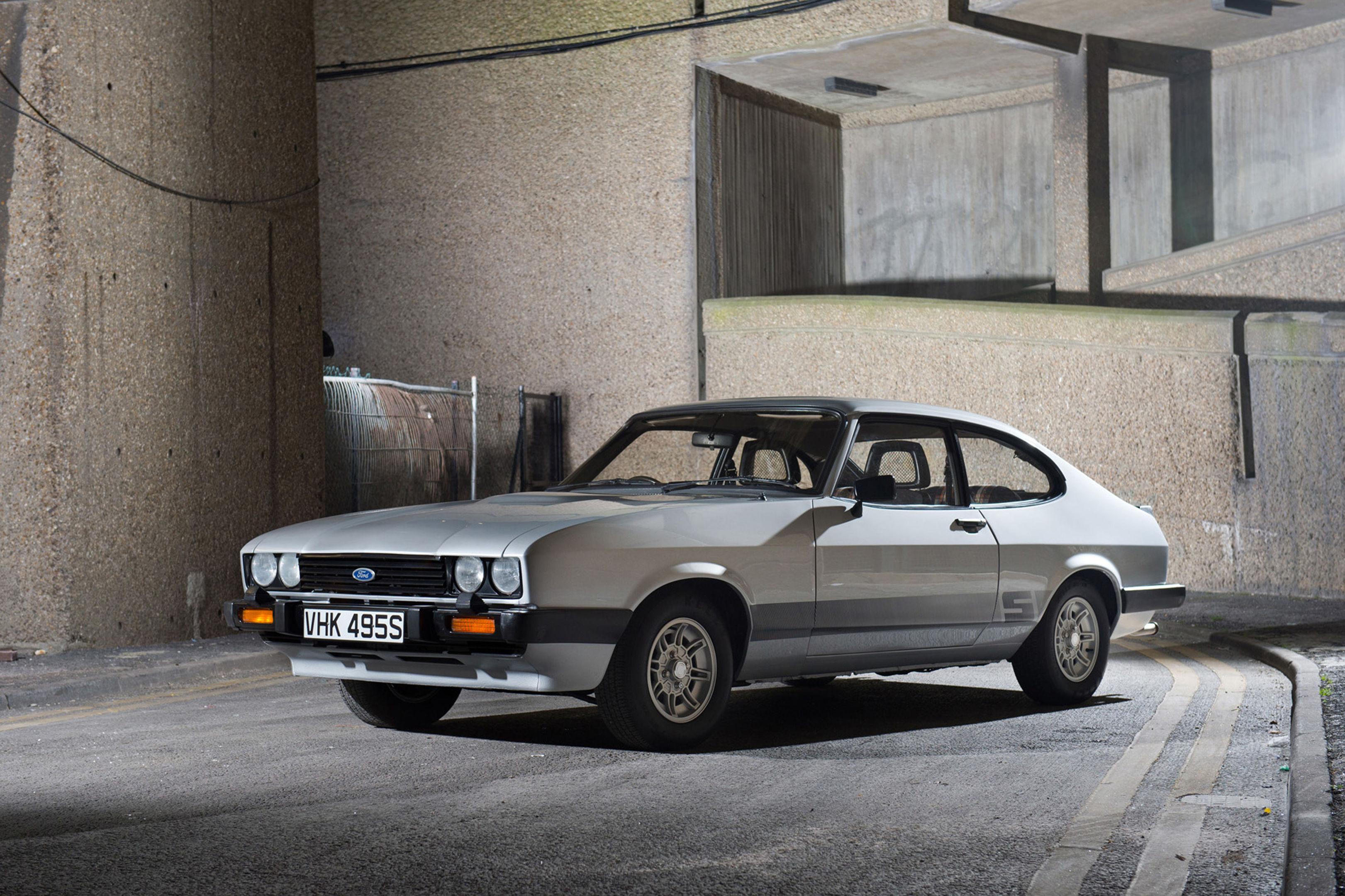 The 1978 Ford Capri.