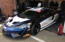 ngus youngster Sandy Mitchell and fellow Scot Ciaran Haggerty gave the new Black Bull Ecurie Ecosse McLaren 570S GT4 its global race baptism and brought the machine home sixth in the GT4 field.
