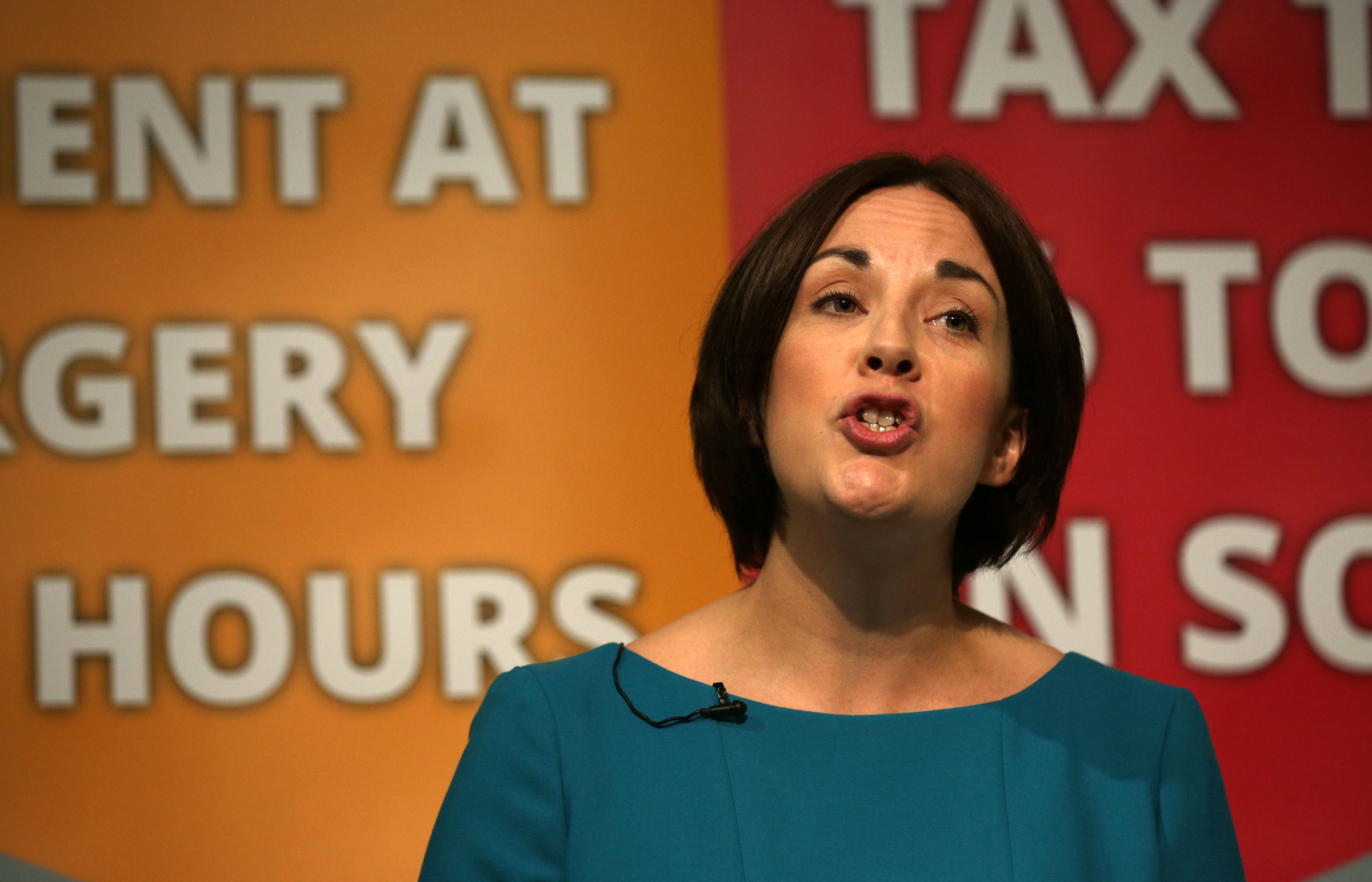 Scottish Labour leader Kezia Dugdale launches her party's manifesto.