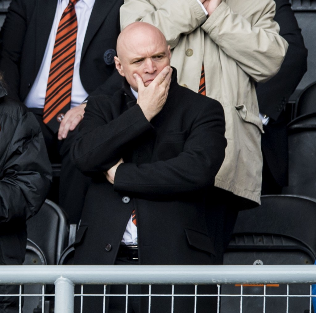 Stephen Thompson watches his club take another step towards relegation.
