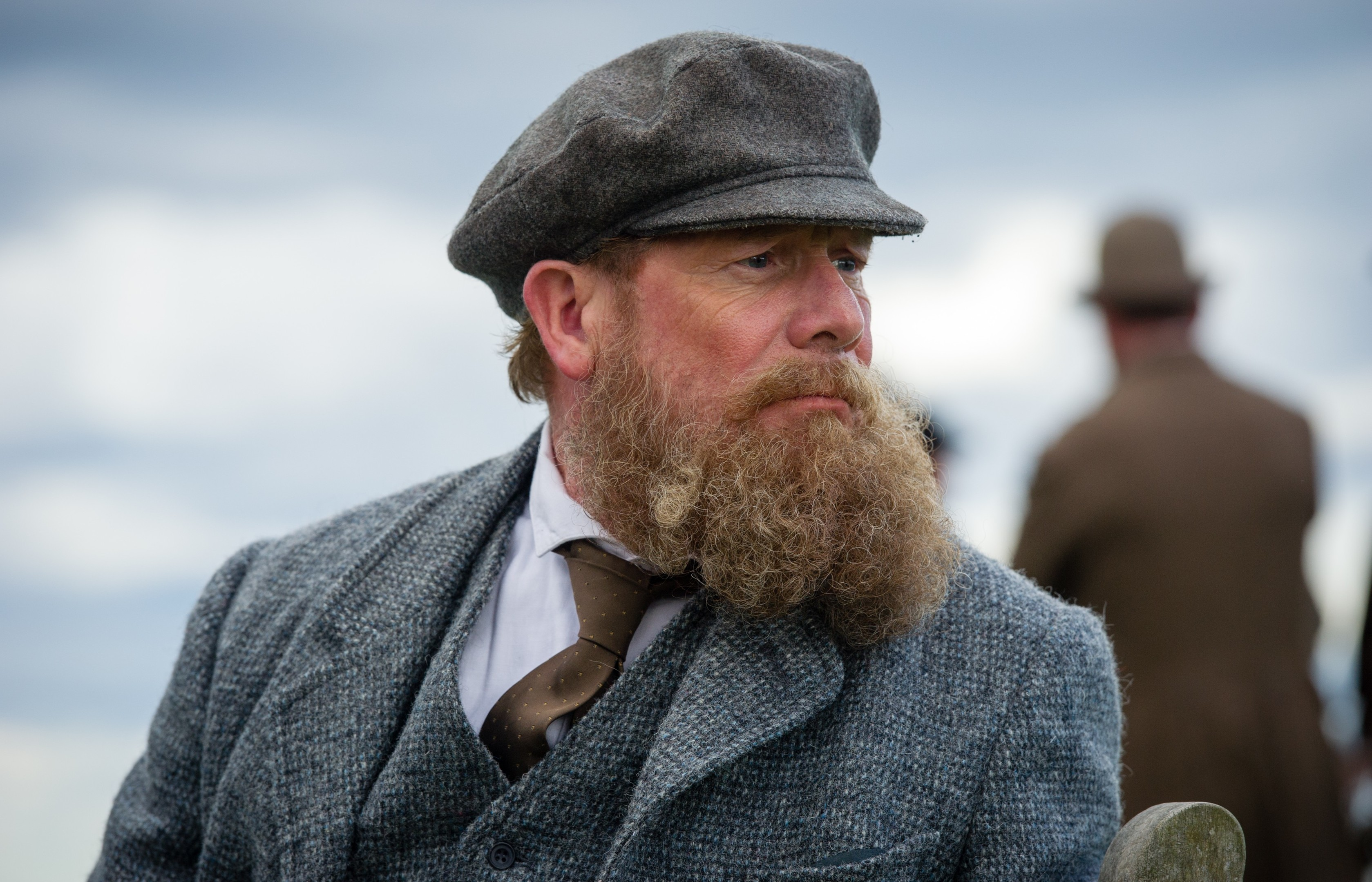 Peter Mullan as Old Tom Morris in Tommy's Honour