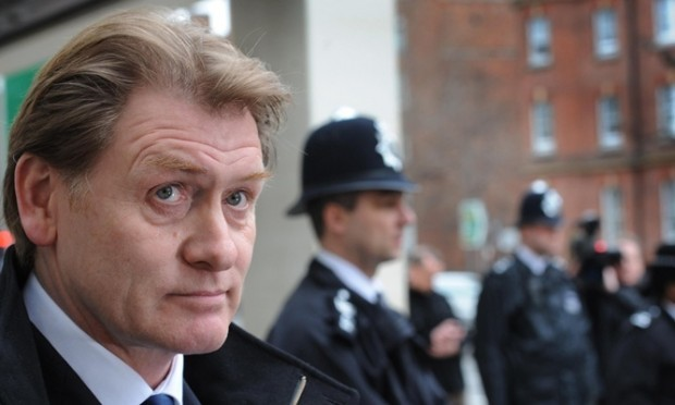 """Eric Joyce MP leaves City of Westminster Magistrates Court in London today where he was spared jail for beating up four politicians while drunk and telling police """"You can't touch me, I'm an MP""""."""