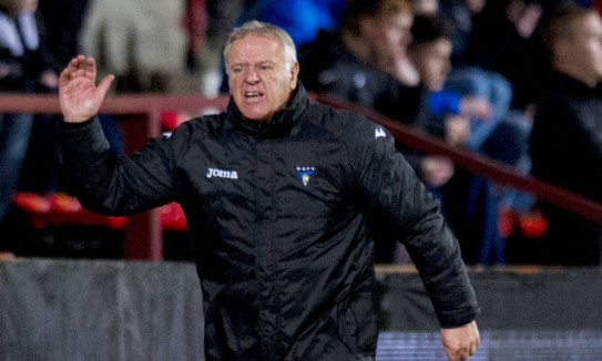 Dunfermline manager Jim Jefferies was pleased with his side's performance.