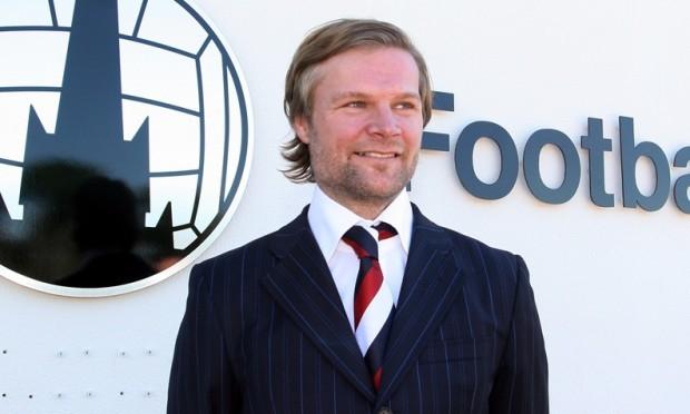 Steven Pressley, assistant manager Falkirk FC.