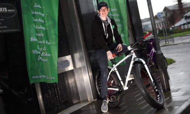 Director of Arbroath Cycle Hub Scott Francis.