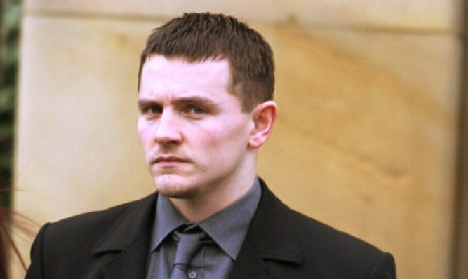 PC Gary Johnston leaving court on Thursday after being found not guilty.