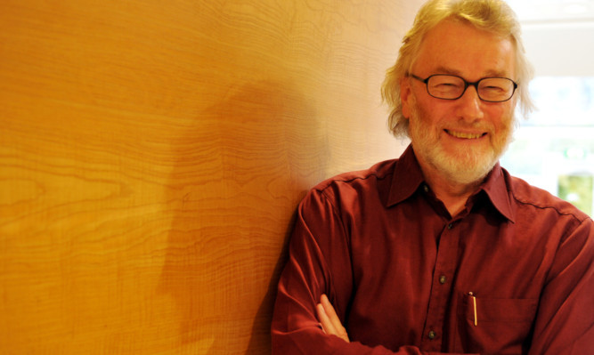 Iain Banks pictured last year.