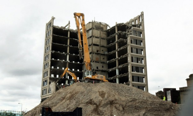 Tayside House is soon to be no more, much to Lorraine's delight.