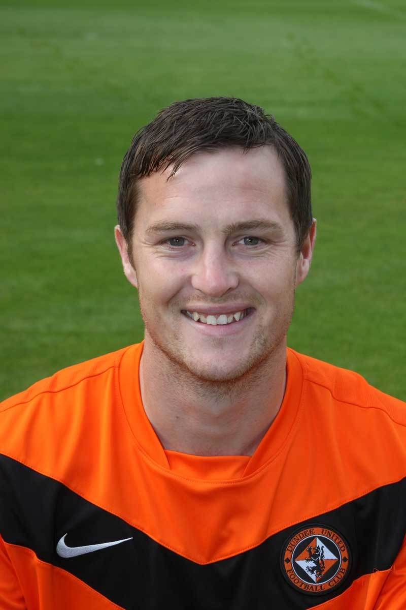 Head and shoulders of Jon Daly, Dundee United FC.