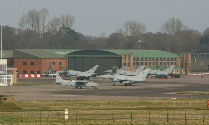 Fifty personnel at RAF Leuchars have been sent redundancy letters.