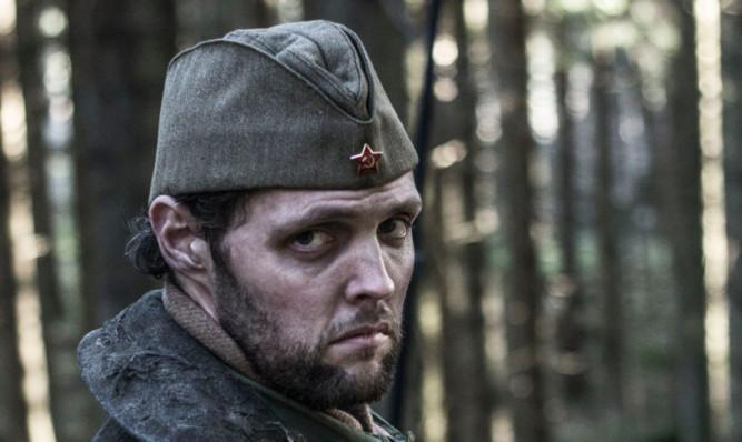 Red star: Gareth as Potrovski.