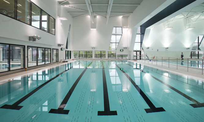 new glenrothes swimming pool getting ready to make a splash the courier