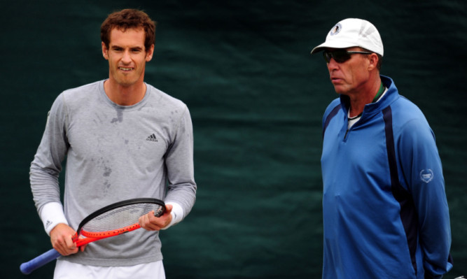 Andy Murray has praised Lendl's role in helping him to the Wimbledon title.