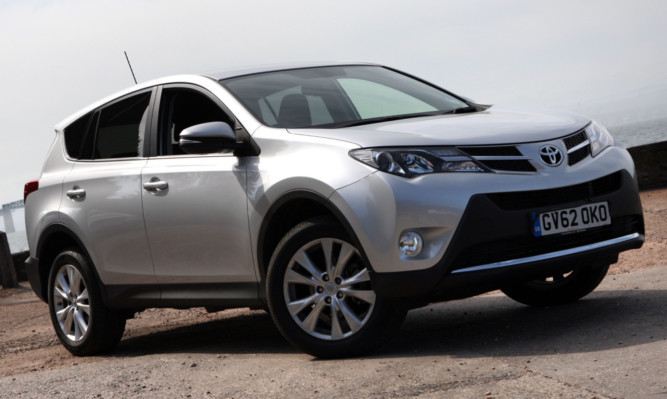 Kris Miller, Courier, 08/07/13. FEATURES. Toyota Rav 4. Pic for Jack McKeown motoring feature.