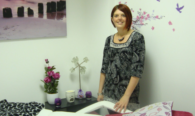 A Be Your Own Boss grant helped Lisa Proudfoot buy essentials for a therapy room when setting up her counselling and holistic therapies business.