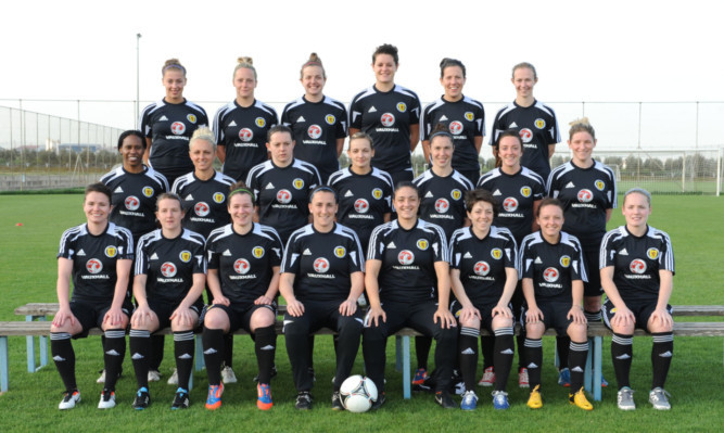 The Scottish international women's football team