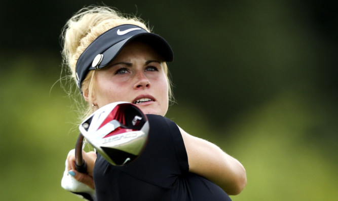 Carly Booth will play at St Andrews later this week  after winning through in a sudden death play-off