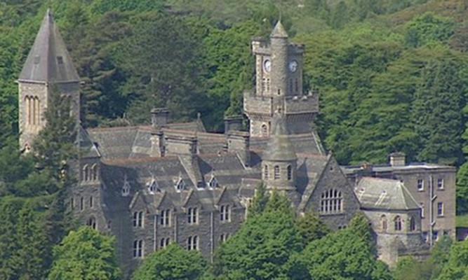 Fort Augustus Abbey school.