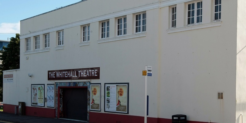 Kim Cessford, Courier 14.08.11 - the Whitehall Theatre has gone into administration - pictured is the exterior of the building - words from Alan