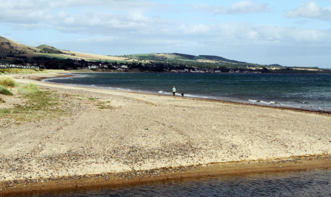 Largo Bay  one of the sites of a controversial plan to ignite subsea coal seams.