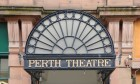 Kim Cessford - 20.08.13 - pictured is the building exterior Perth Theatre entrance on the High Street, Perth