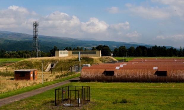 Cultybraggan nuclear bunker.