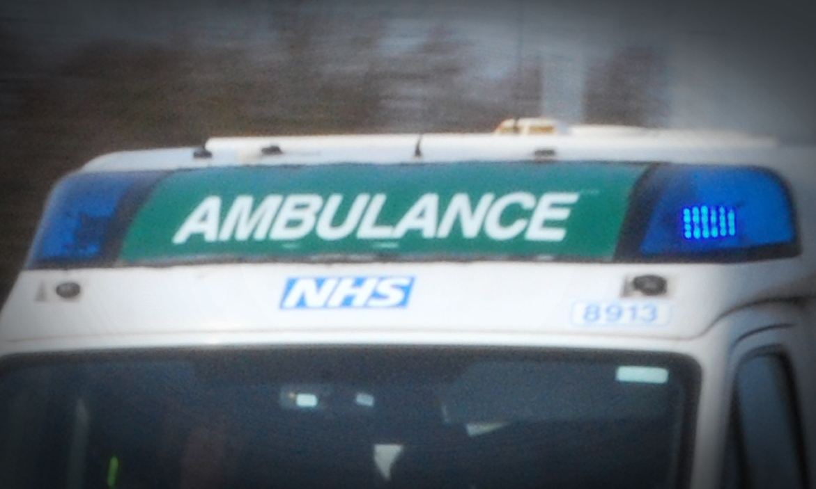 An ambulance team was called out to Montrose Infirmary.