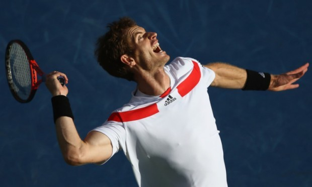 Andy Murray suffered defeat in the quarter-finals.