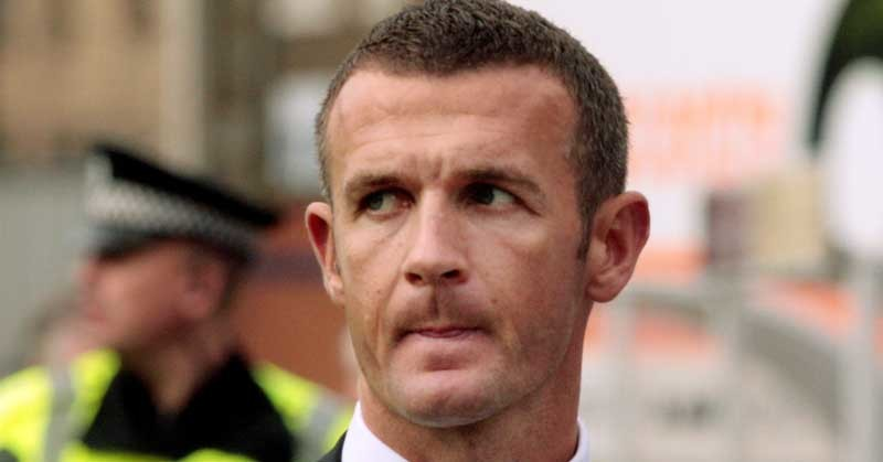 Football, Raith Rovers v Dunfermline Athletic.    Dunfermline manager Jim McIntyre at the end of the game.
