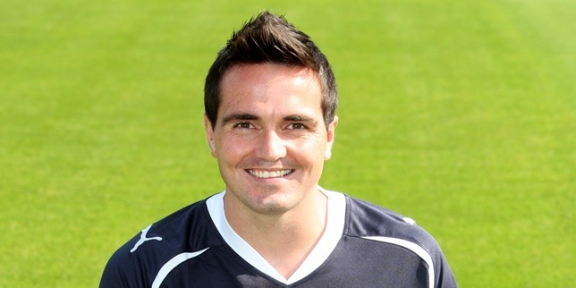 Steve MacDougall, Courier, Dens Park, Dens Road, Dundee. Dundee FC Team photocall. Pictured, Sean Higgins.