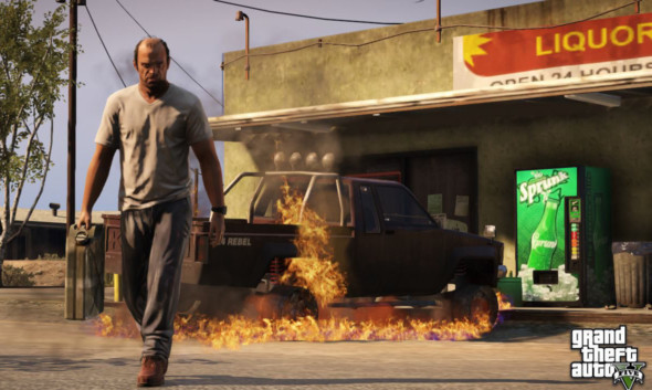 A screenshot from GTA V.