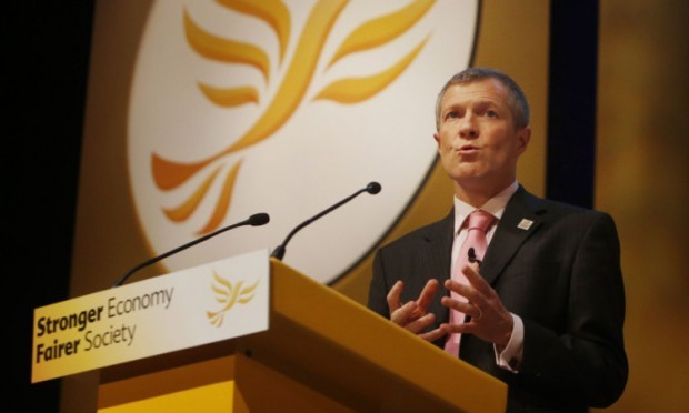 Lib Dem leader Willie Rennie suggested the SNP is a vindictive party that would say or do anything to get power.