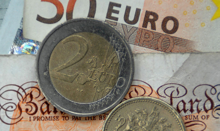 Monday is the key date for establishing the euro rate.