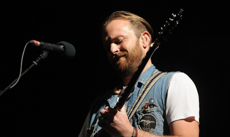 Kings of Leon lead singer Caleb Followill.