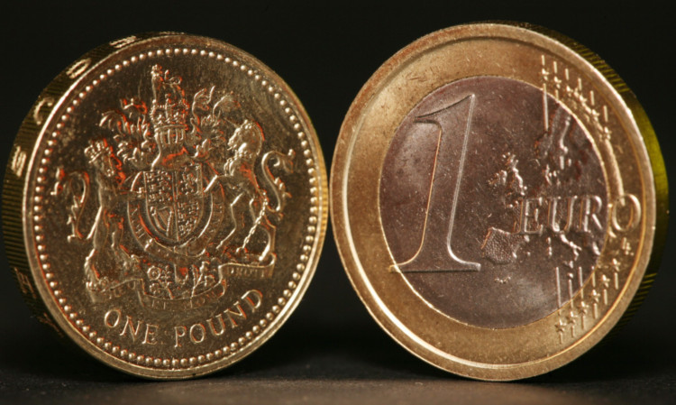 The 2013 euro-sterling exchange rate compares favourably to last year.