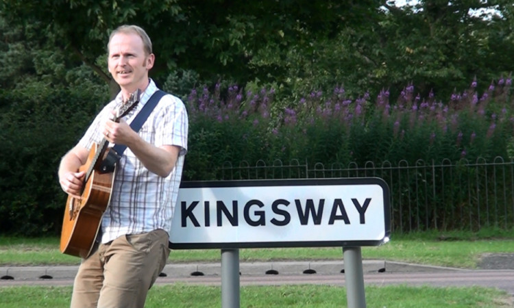 Ed Muirhead has also penned a song about Dundee's Kingsway.