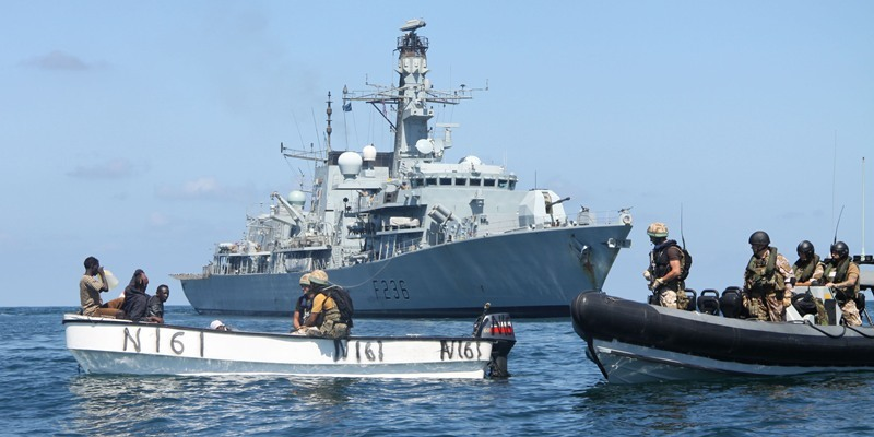 HMS Montrose confronts pirates in the Gulf of Aden - The Courier