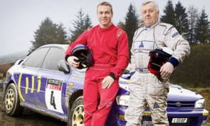 Sir Chris with Jim McRae.